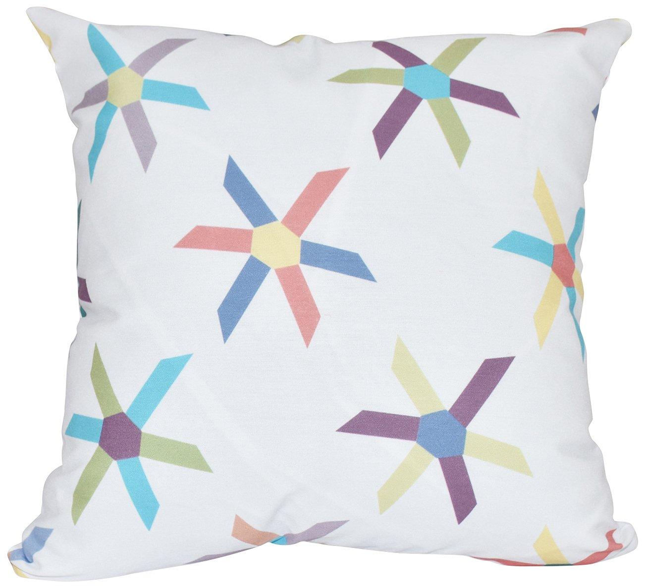 E by design O5PGN418BL27-20 Printed Outdoor Pillow