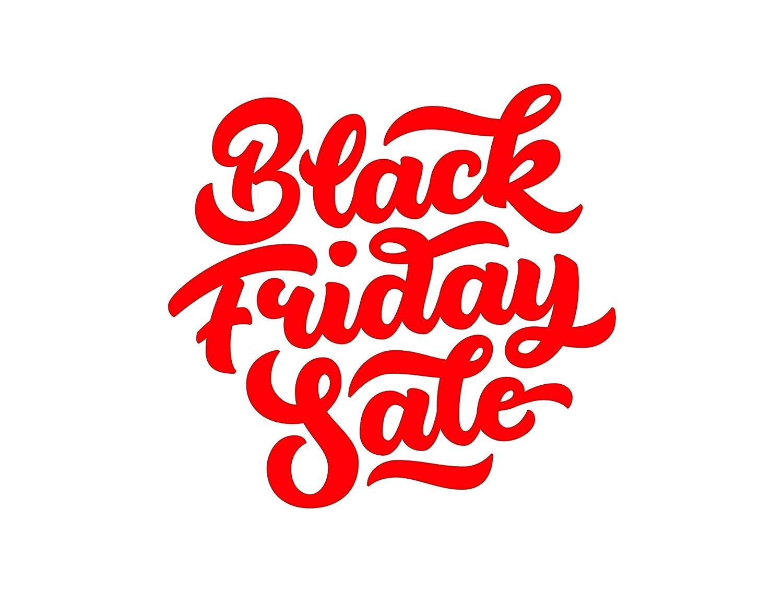 Adesivo per vetrofania 'Black friday sale' Adesivo4You.com ®