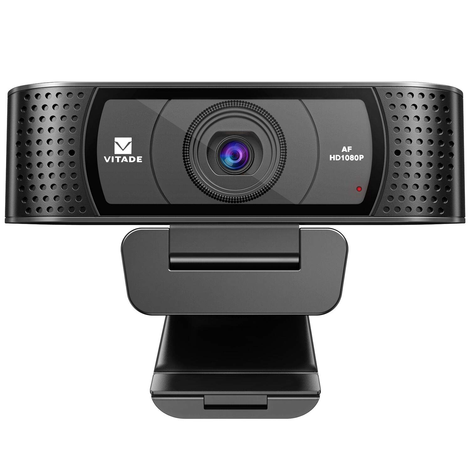 HD Webcam 1080P with Microphone & Cover Slide, Vitade 928A Pro USB Computer Web Camera Video Cam for Streaming Gaming Conferencing Mac Windows PC Laptop Desktop Xbox Skype OBS Twitch YouTube Xsplit by Vitade