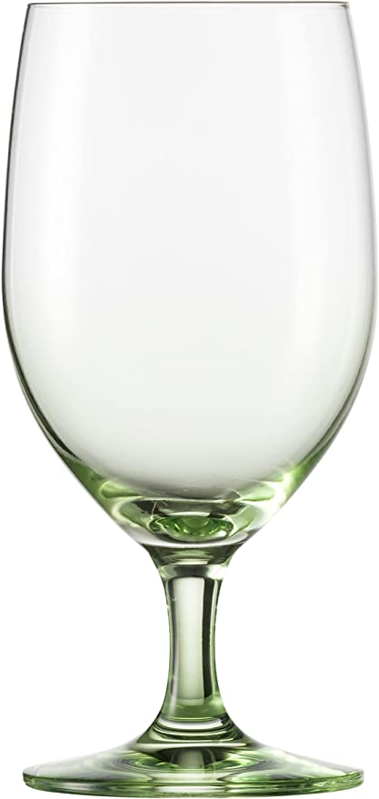 Schott Zwiesel Tritan Verre de Cristal Forte Touch coupelles à bordsverres à cocktail, couleurs assorties Eau boisson 15.3 oz Green