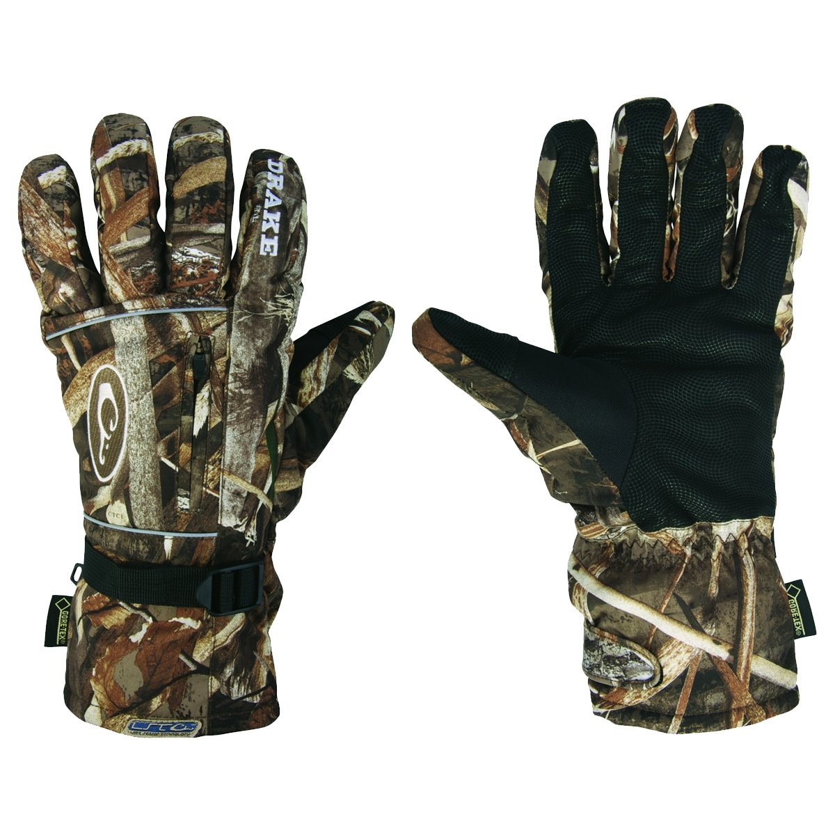 Drake Waterfowl Men's Lst Refuge Hs Gore-Tex Glove Realtree Max 5 (L) by Drake