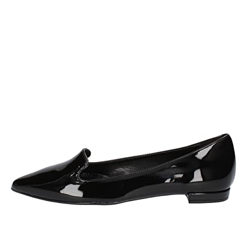 OLGA RUBINI Mocasines Mujer Charol Negro 35 EU: Amazon.es: Zapatos y complementos
