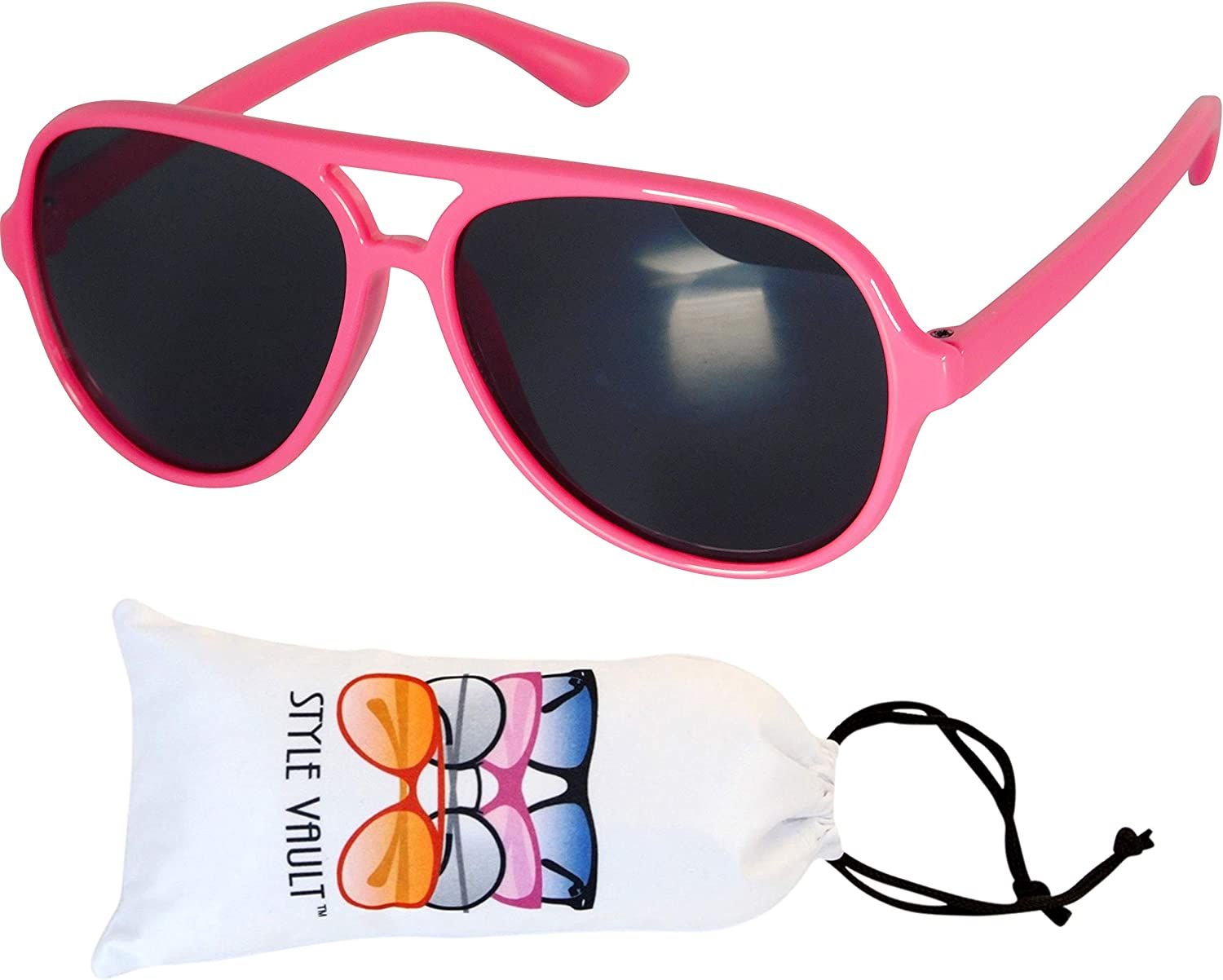 Kd37 Infant Toddler Age 0~24 Months Turbo Aviator Baby Sunglasses