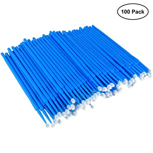 100pcs New Touch Up Paint Micro Mini Brush Small Tips Micro Applicators Tool