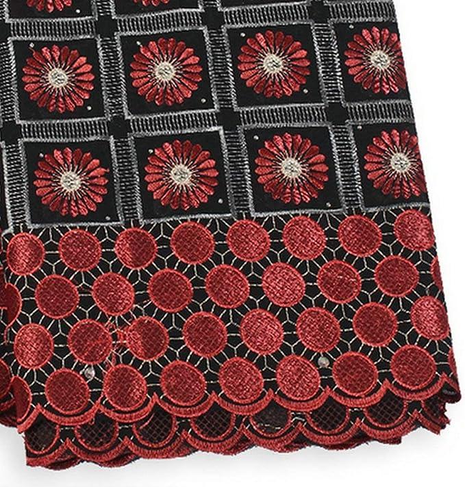 Mandala Blues Cotton Fabric by The Yard Precut 1 Yard Pieces