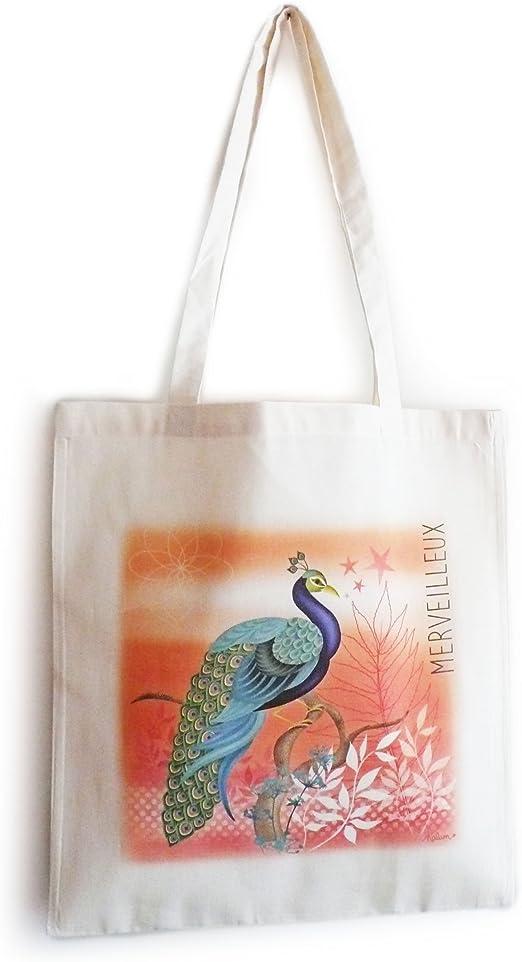 Tote Bag-algodón ecológico, diseño con texto