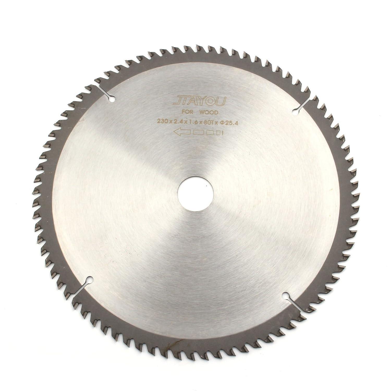 9 Inch 80 Teeth General Purpose Circular Saw Blade For Cutting Wood Working