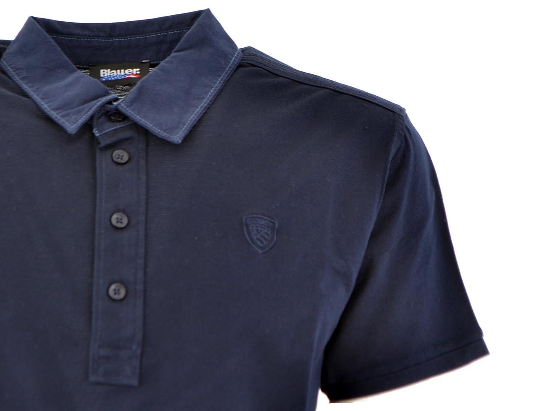 Blauer Hombre Polo M/C Iris Negro 19 - 3921 16sblut02199 Col.881 ...