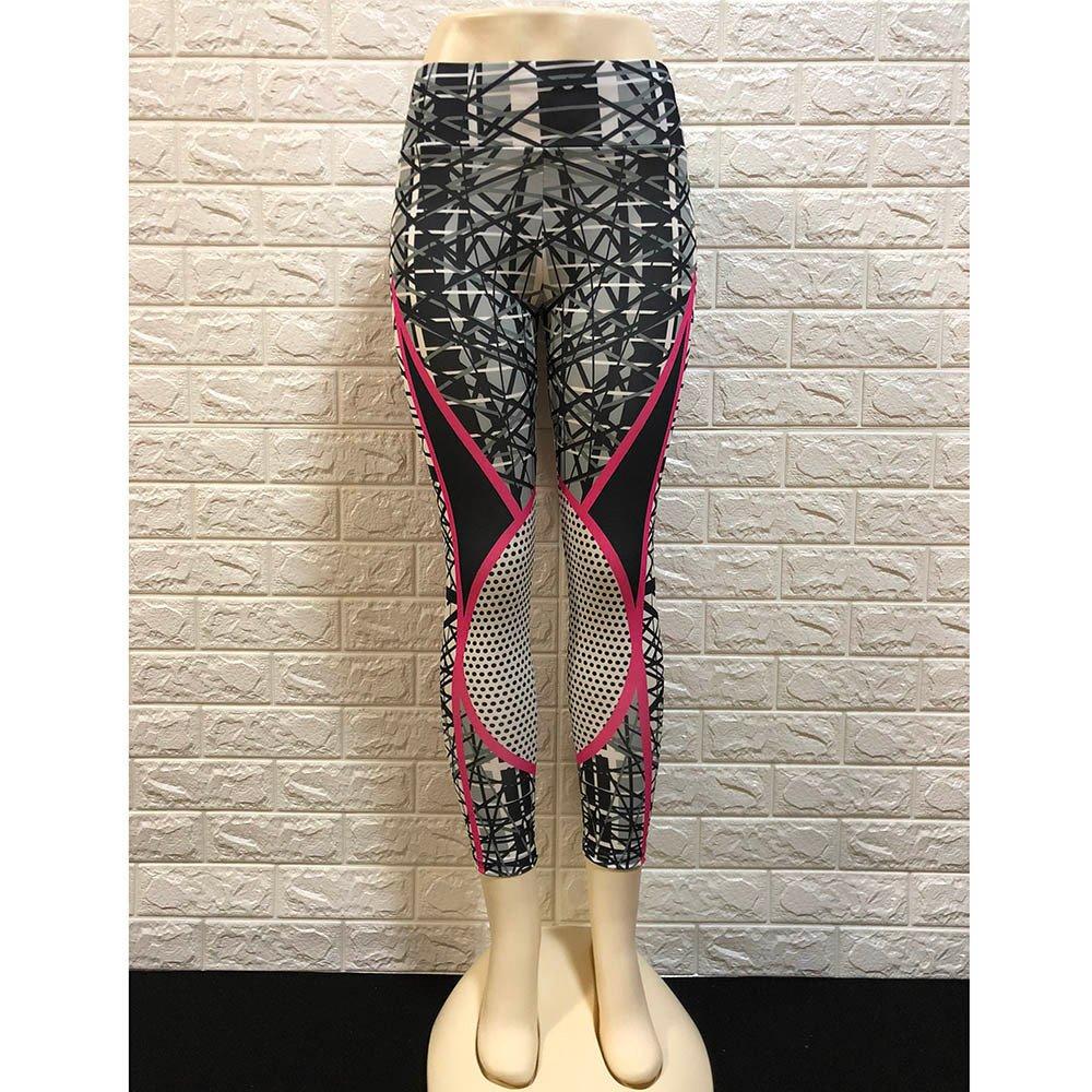 Gusspower Leggings Yoga Mallas Deportivas Mujer Pantalon Elastico Estampado Floral Cintura Altura Polainas para Running Pilates Fitness: Amazon.es: Deportes ...