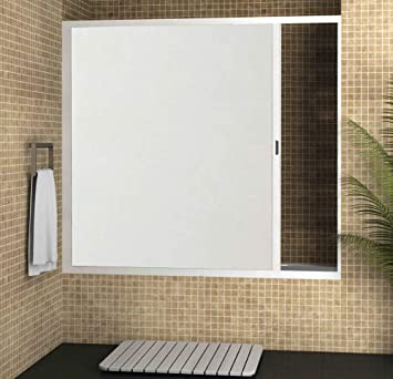 Strategy Products Mampara para bañera Enrollable con cajón ...