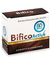 Bifico - simbiotici in cioccolato (il quale contiene le colture delle batterie vive e l`inulina), batteri probiotici
