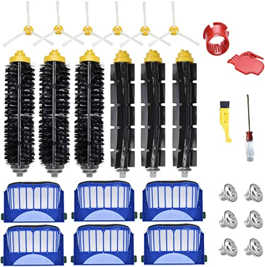 Replacement Accessories Kit for iRobot Roomba Vacuum Cleaner 600 Series 660 650