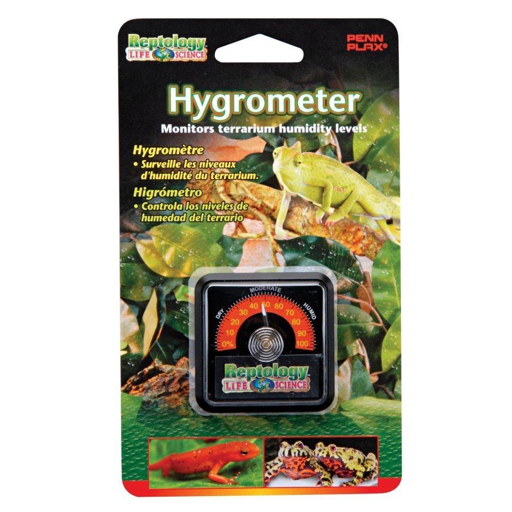 Penn Plax The Reptology Reptile Hygrometer