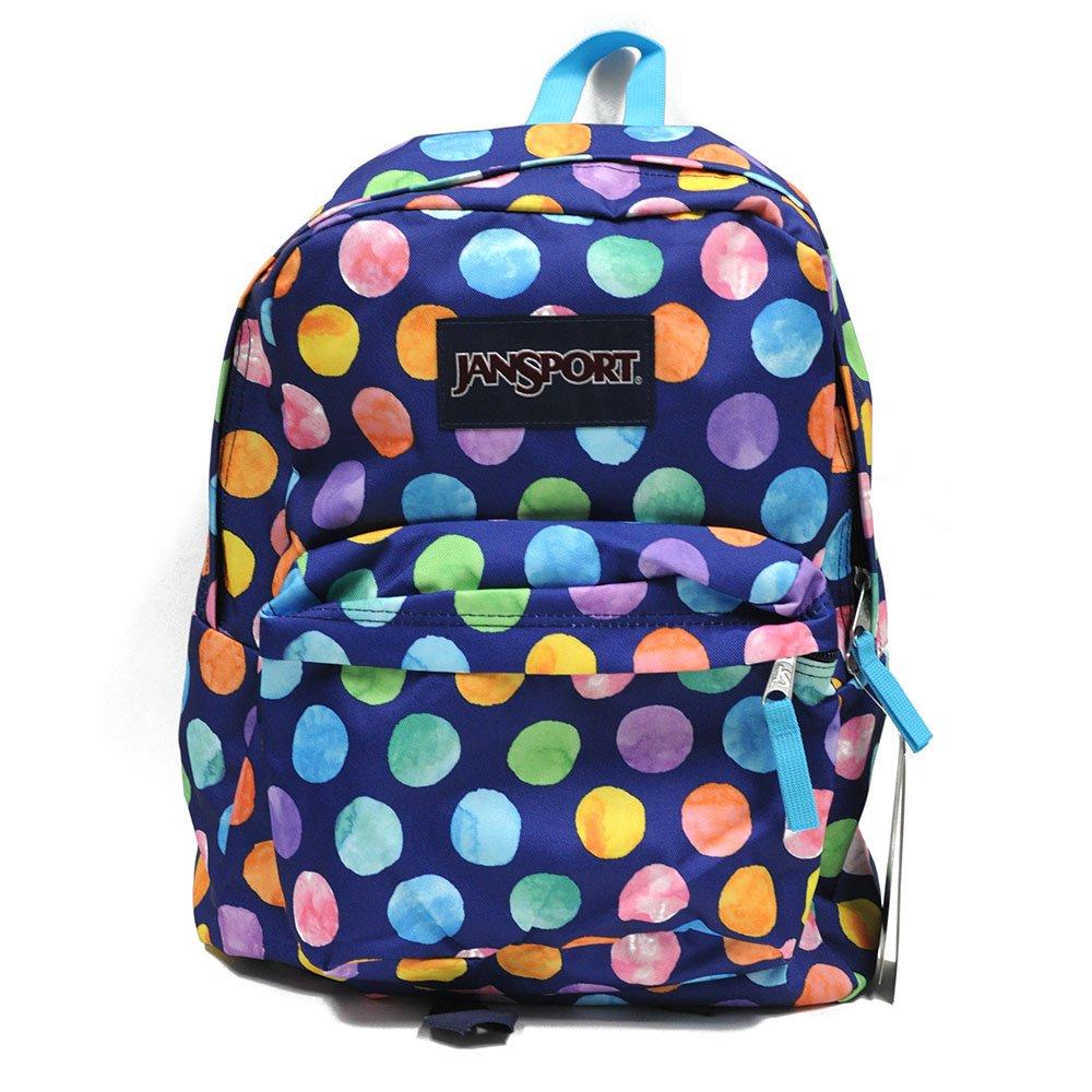 JanSport Unisex SuperBreak Multi Watercolor Spots Backpack