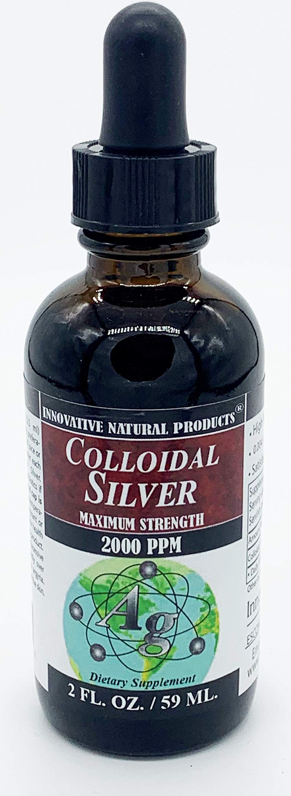 Colloidal Silver 2000 PPM (2 oz) by Innovative Natural Products