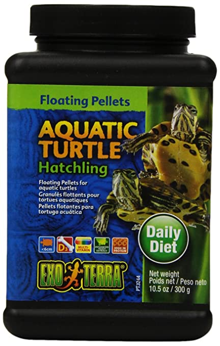 Exo Terra Hatchling Aquatic Turtle Food, 10.5-Ounce