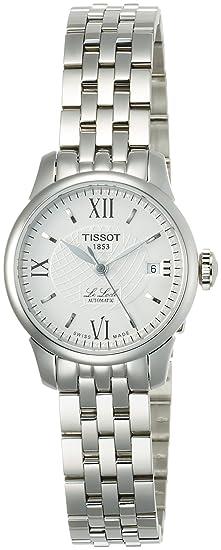 Tissot LE LOCLE T41118333 - Reloj de mujer de cuarzo, correa de acero inoxidable: Amazon.es: Relojes