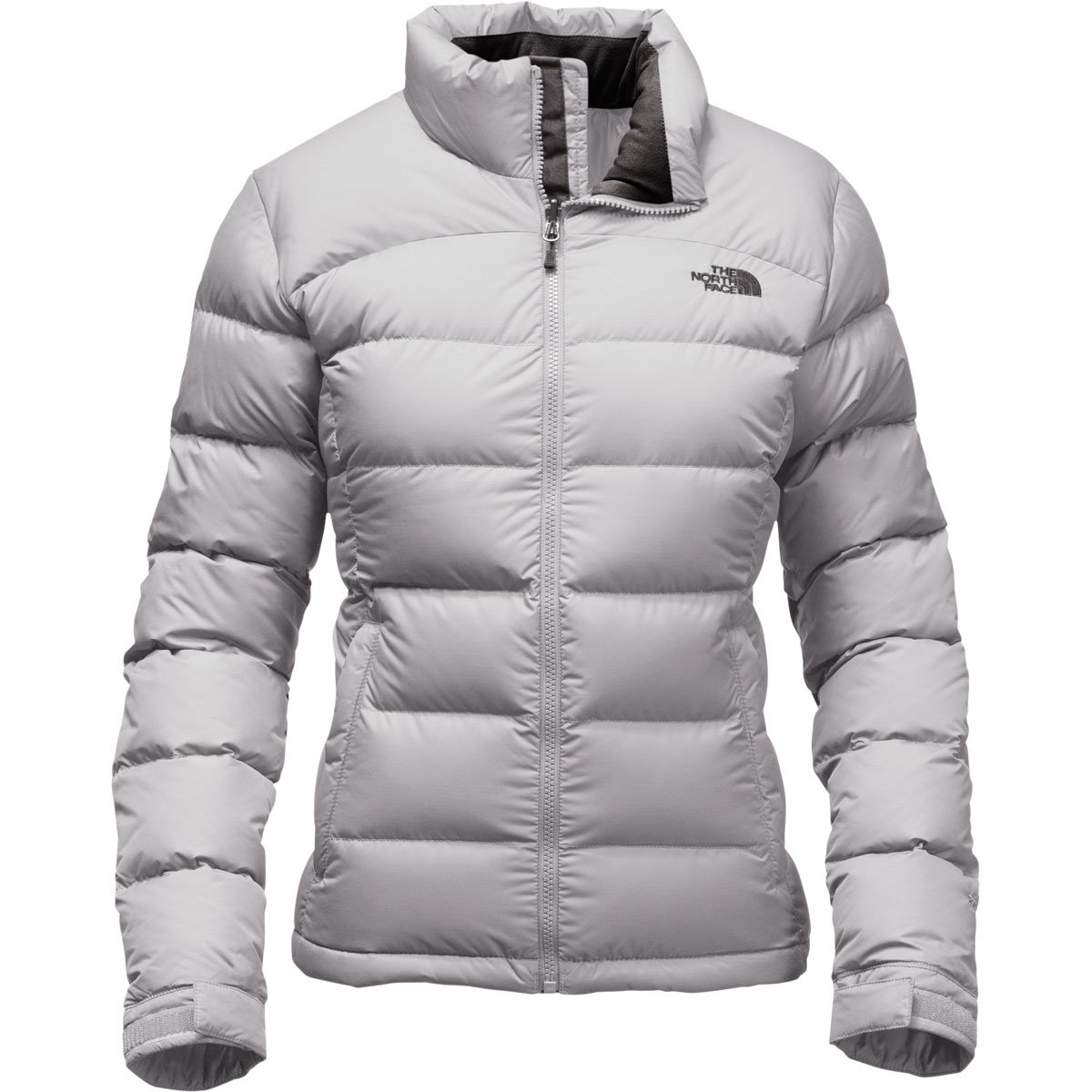 The North Face Women's Nuptse 2 Jacket Lunar Ice Grey Size Small