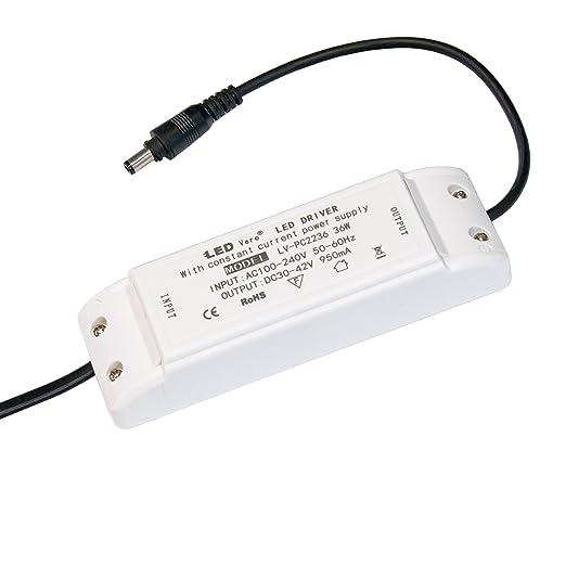 LED Transformador para 60x6062x62 36W y120x30 wv80ymNOn