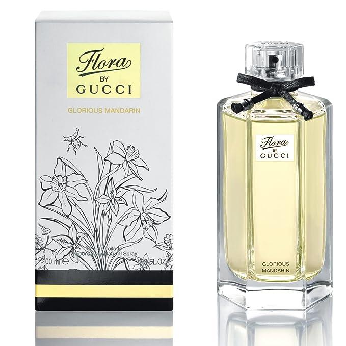 c73454c6cc2 Gucci Flora Glorious Mandarin Eau de Toilette Spray for Her 100 ml   Amazon.co.uk  Beauty