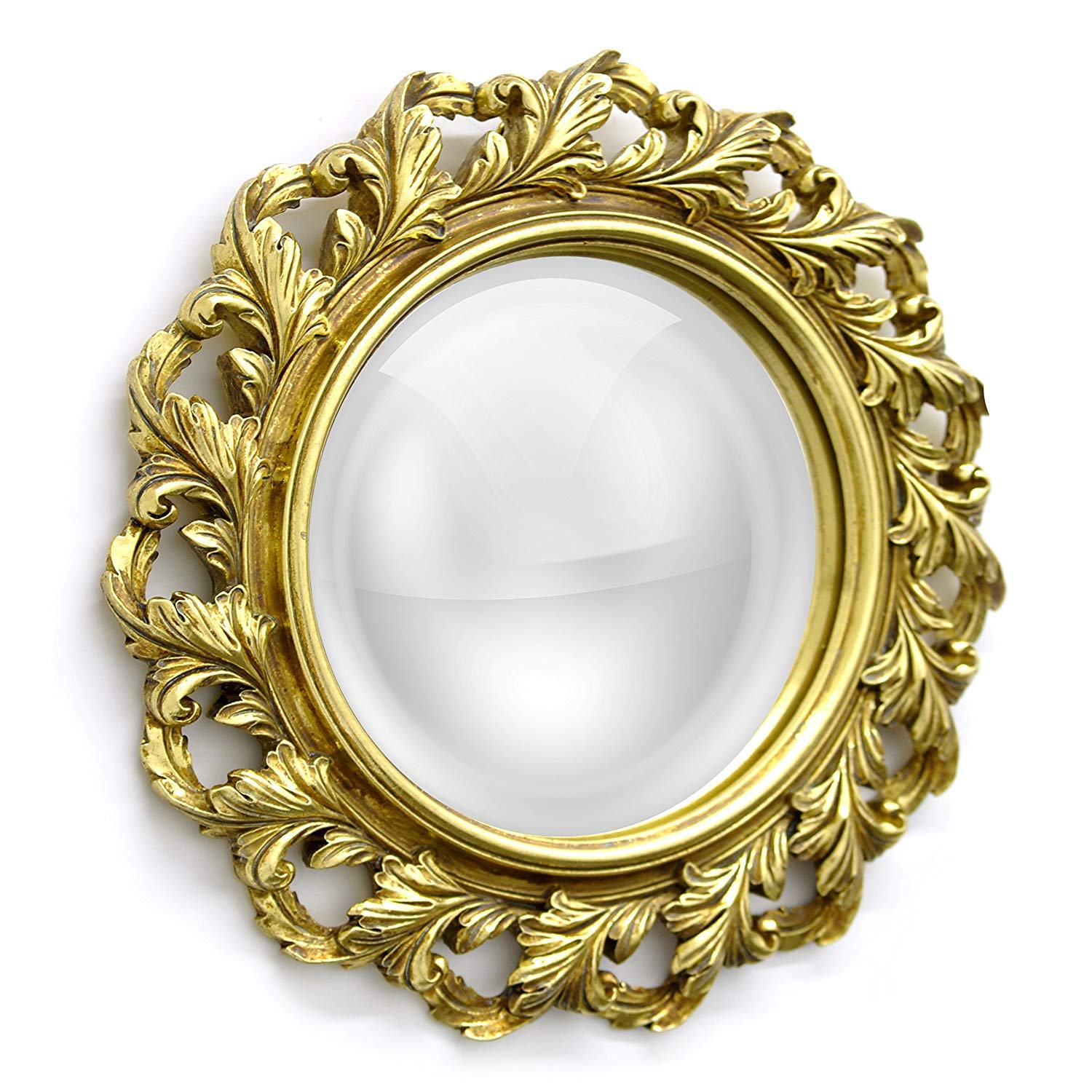 Amazon.com: Better Homes and Gardens Baroque Wall Mirror, Gold: Home ...