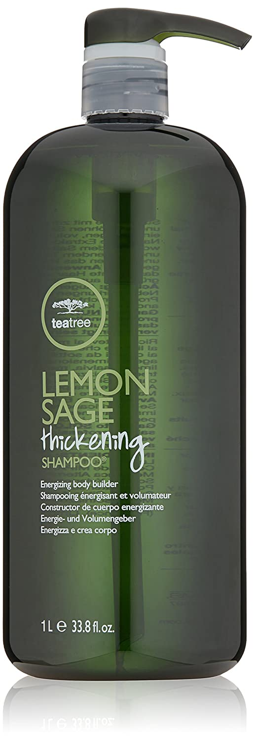 Tea Tree Lemon Sage Thickening Liter Duo