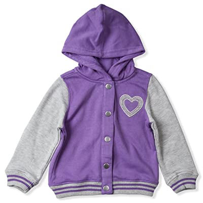 Baby Clothes Unisex Long Sleeves Hooded Sweatshirt Infant Hoodie with Love Heart-Shaped