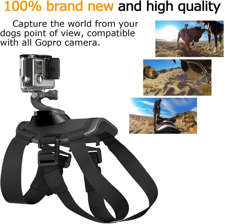 Aodoor Arnés del Perro para GoPro Hero 1/2/3/3+/4 SJCAM Sj5000+ ...