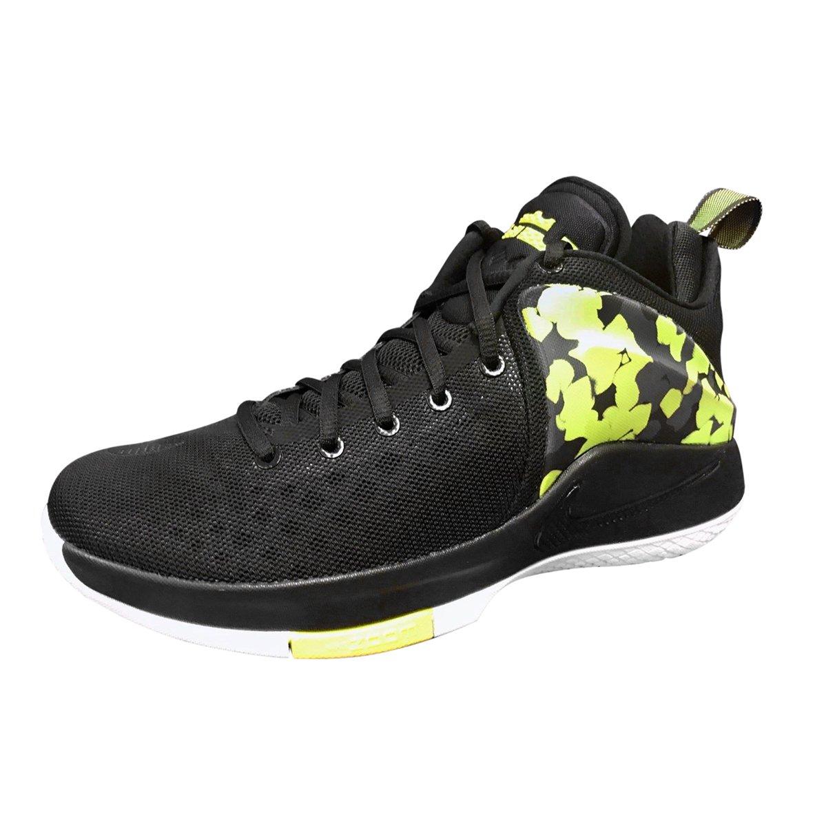 detailing ba7b4 740a7 Amazon.com   Nike Mens Zoom Witness Lebron Sneakers New, Black Volt  852439-017 (12)   Fashion Sneakers