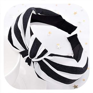 Fashion Ladies Headband Hairband Bow Knot Cross Headwrap Hair Hoop Accessories