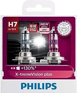 Philips X-treme Vision Plus 130% H7 12V globe - twin display pack