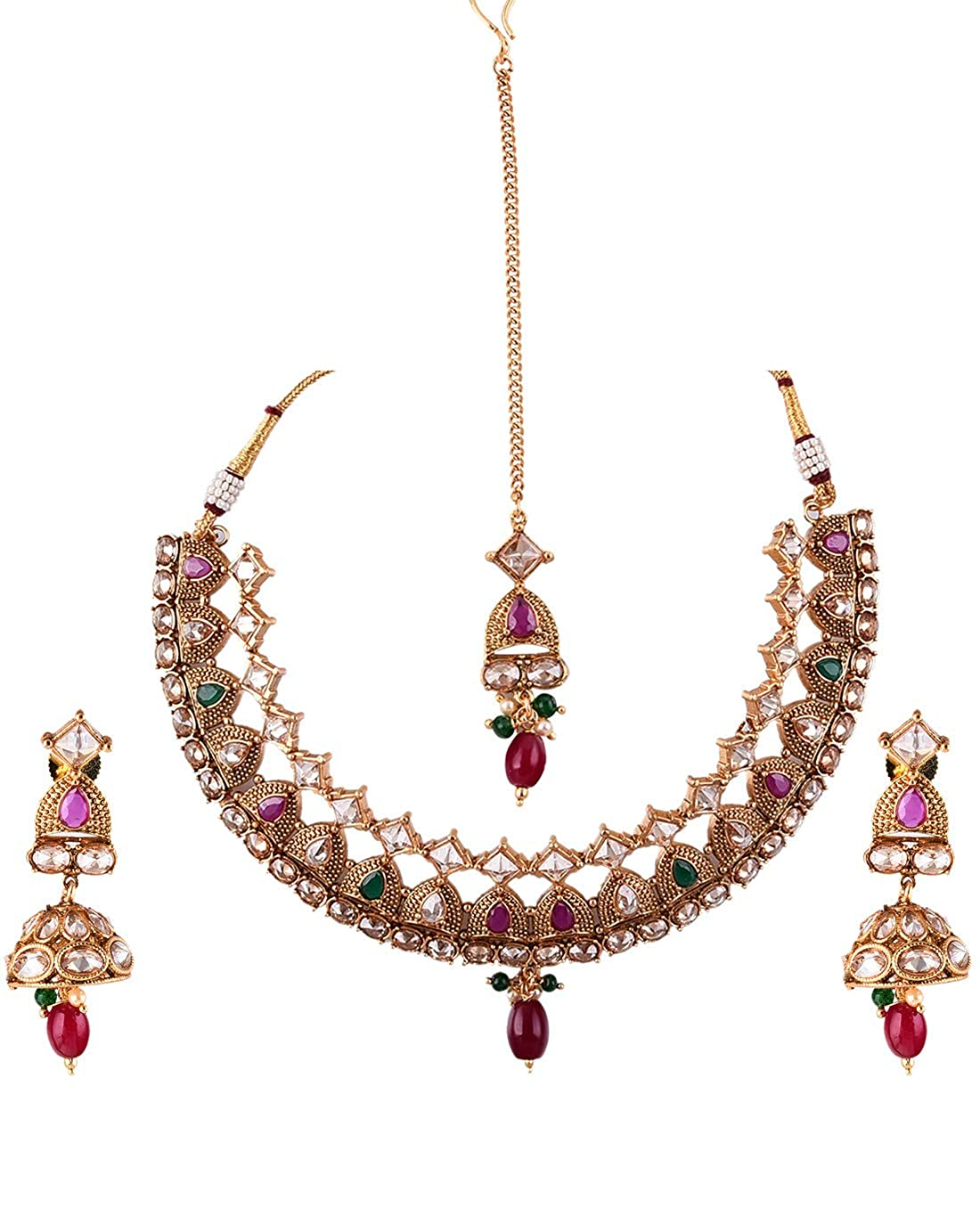 Buy Chooseberry The Royal Bride Collection Gold Plated Traditional