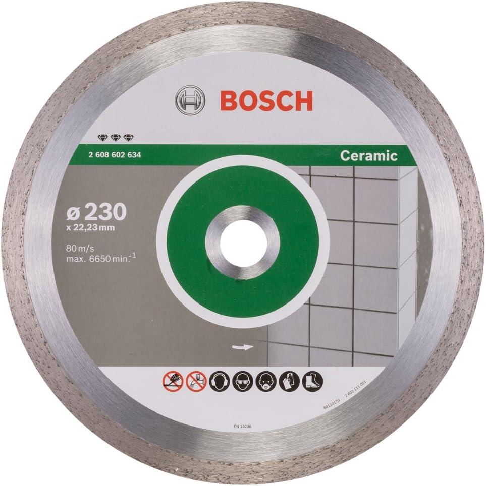 125 x 22,23 x 1,4 x 10 mm Bosch Diamanttrennscheibe Best for Hard Ceramic