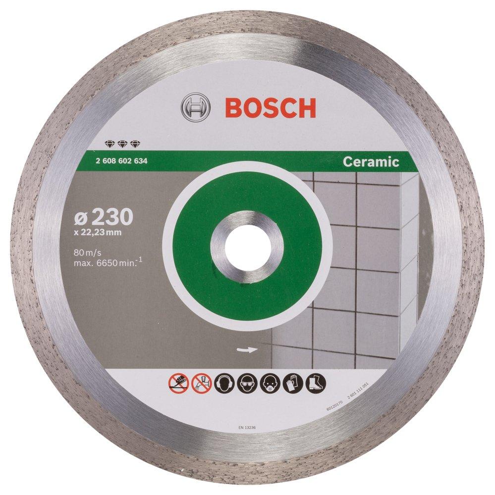 2608602634 BOSCH 230MM DIAMOND CUTTING DISC BEST FOR CERAMIC
