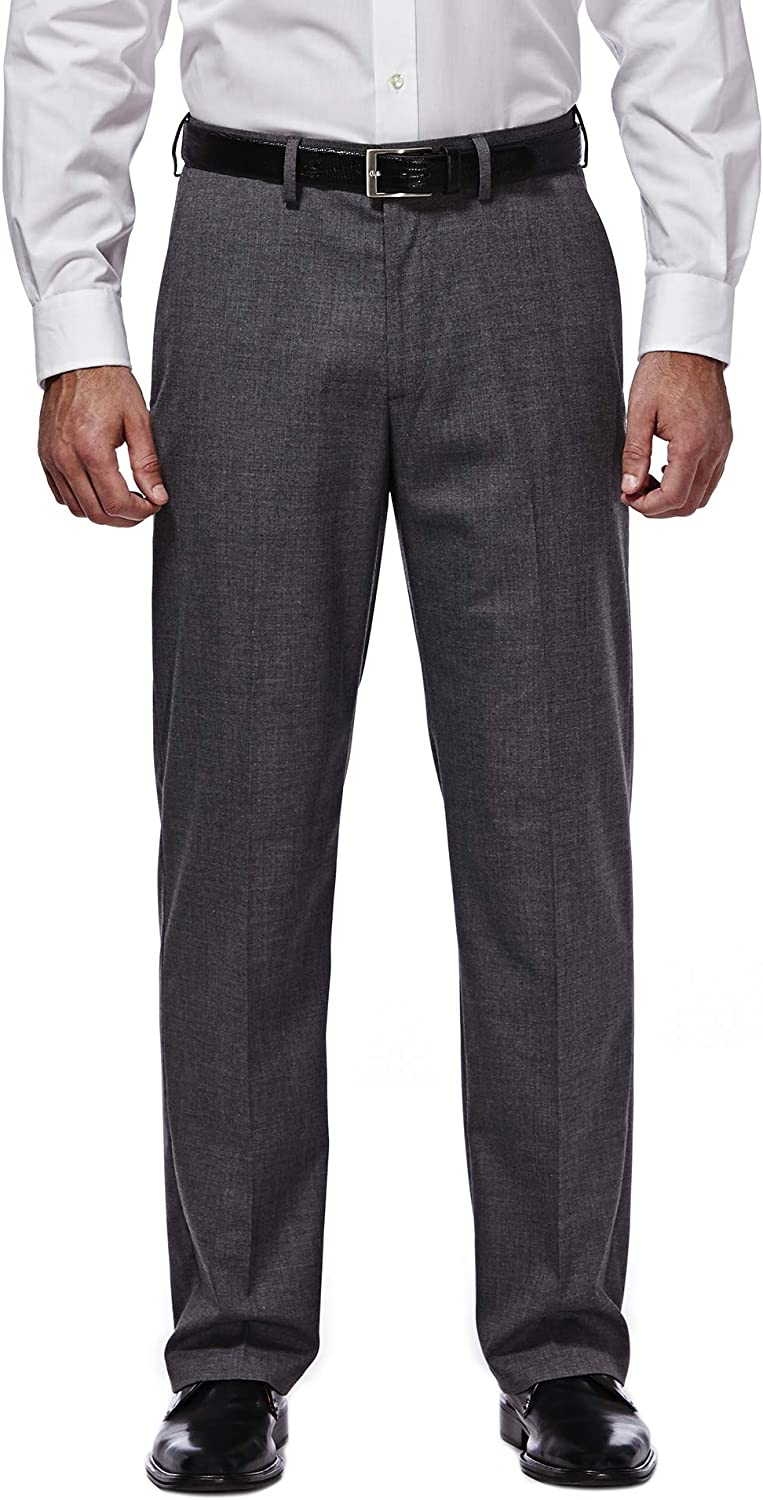 Haggar Mens J.m Premium Performance Stretch Stria Plain Front Suit Separate Pant