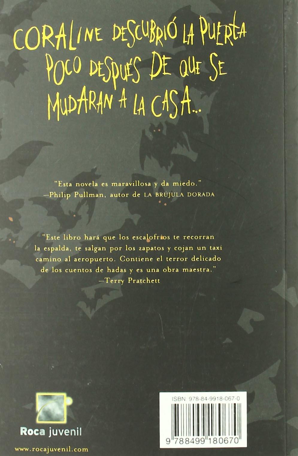 CORALINE NOVELA GRAFICA (Spanish Edition): Neil Gaiman ...