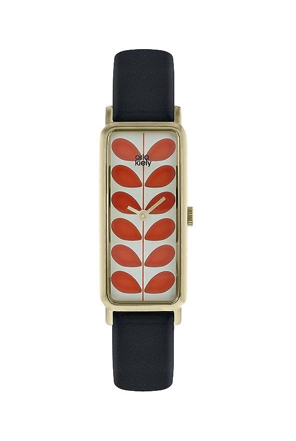 Datum Armband Kiely Orla Ok2184 Quarz Mit Damen Uhr Leder Klassisch Y7vgIb6yf