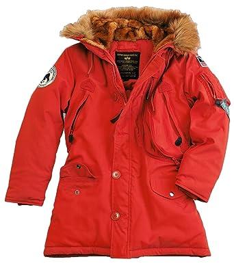 best service b7cca 058e5 Alpha Industries Polar Jacket Women Frauen Parka ...