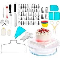 Kit de bicos para confeitar e acessórios 106 peças.