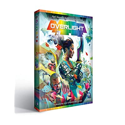 Renegade Game Studios RGS0813 Overlight A Fantasy of Kaleidoscopic Journeys, RPG: Toys & Games [5Bkhe0304358]