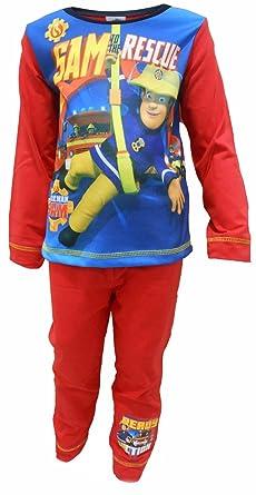Fireman Sam Boys Pyjamas Sam To The Rescue 18M To 3-4Y