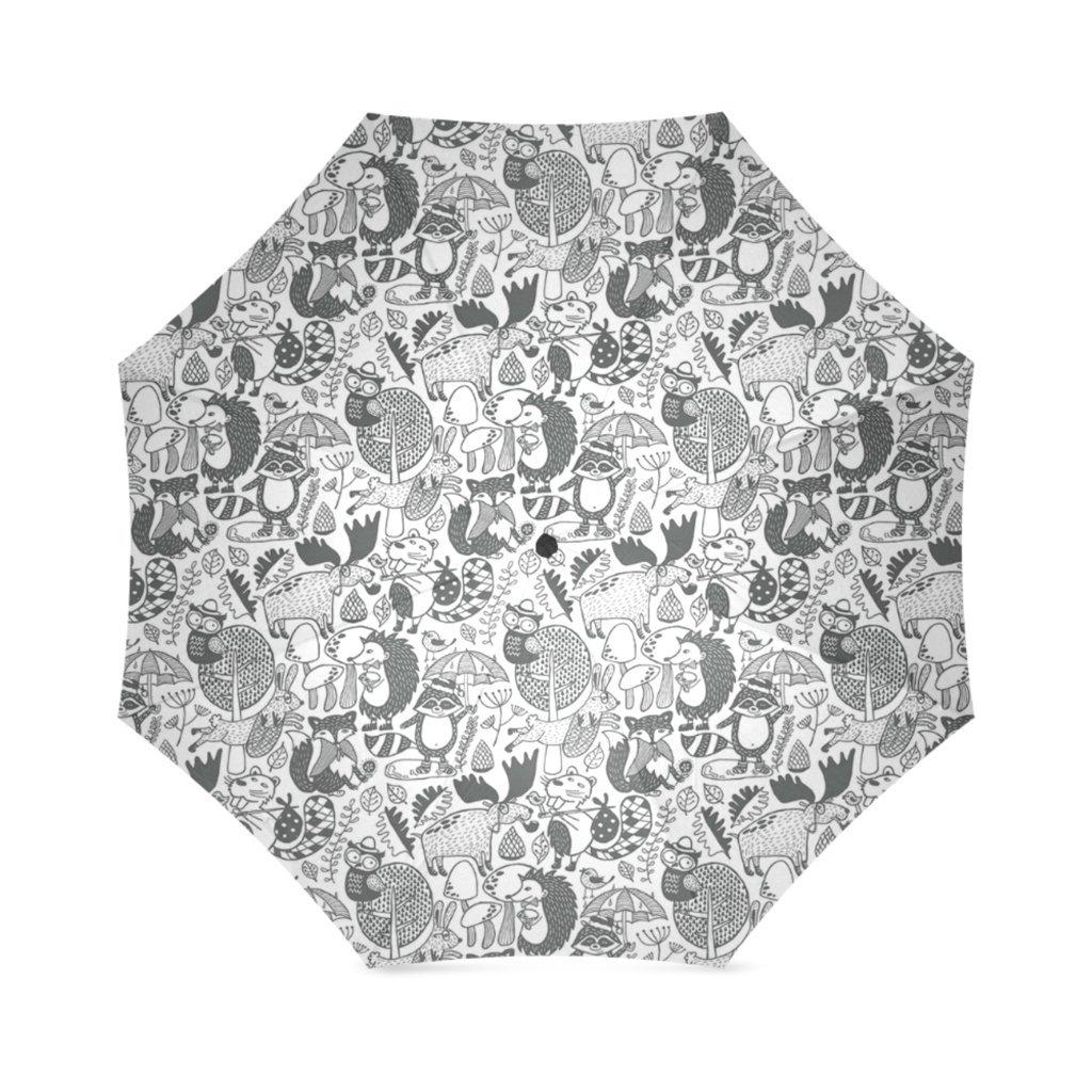 artsbaba傘動物雨傘防風コンパクトトラベル傘UV保護折りたたみ式   B073VGK6MW