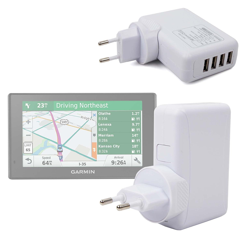 DriveAssist 50 et 51 par DURAGADGET DriveLuxe 50 et 51 Secteur USB DriveSmart 51 et 61 Chargeur pour GPS GARMIN Drive 51 et 61