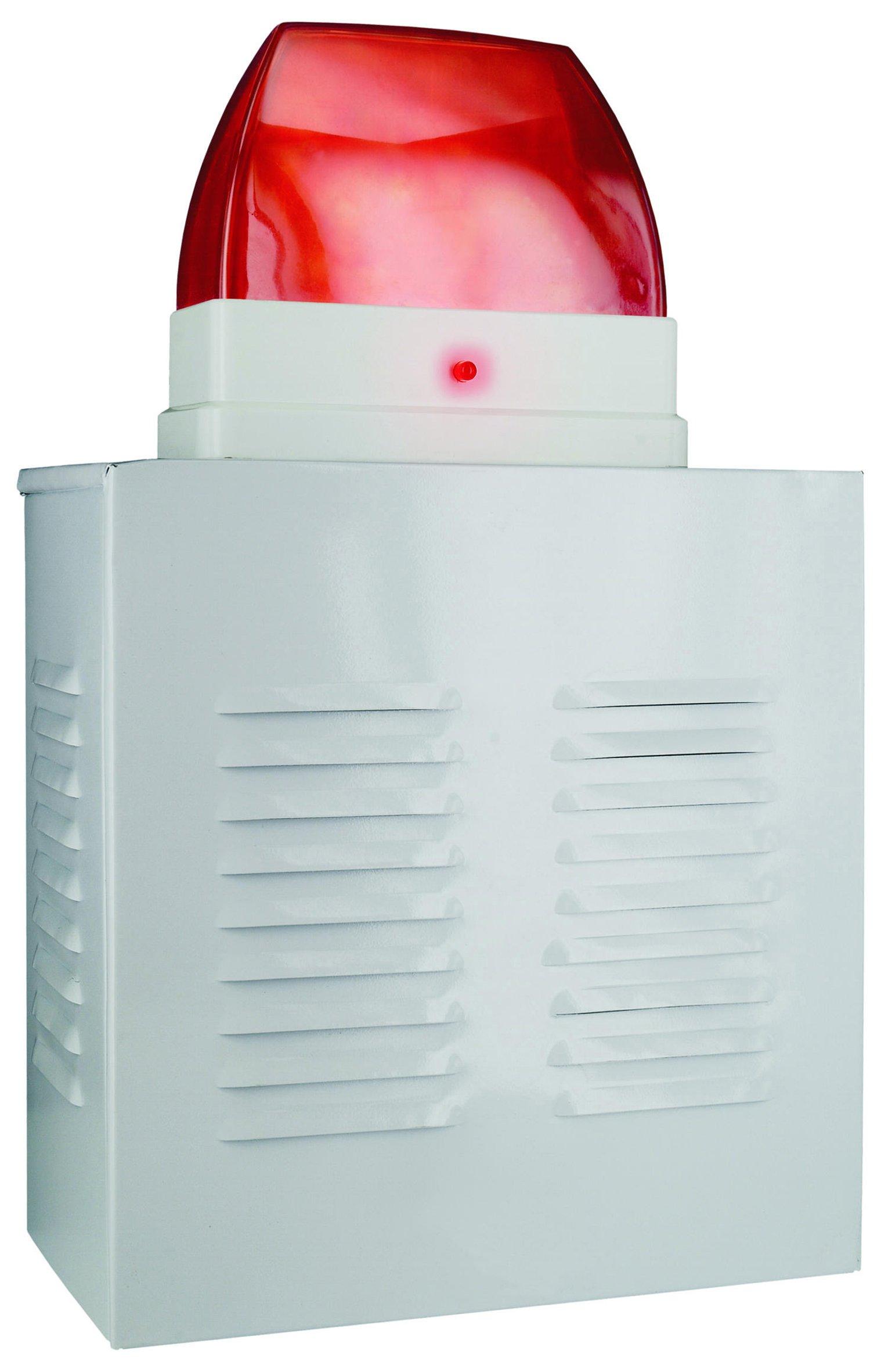 Smartwares SA11D Dummy Siren – Aluminium – Flashing LED