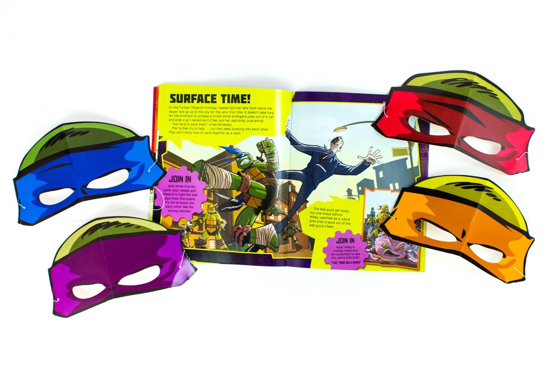 Teenage Mutant Ninja Turtles: Pop-Out Mask Book: Amazon.es ...