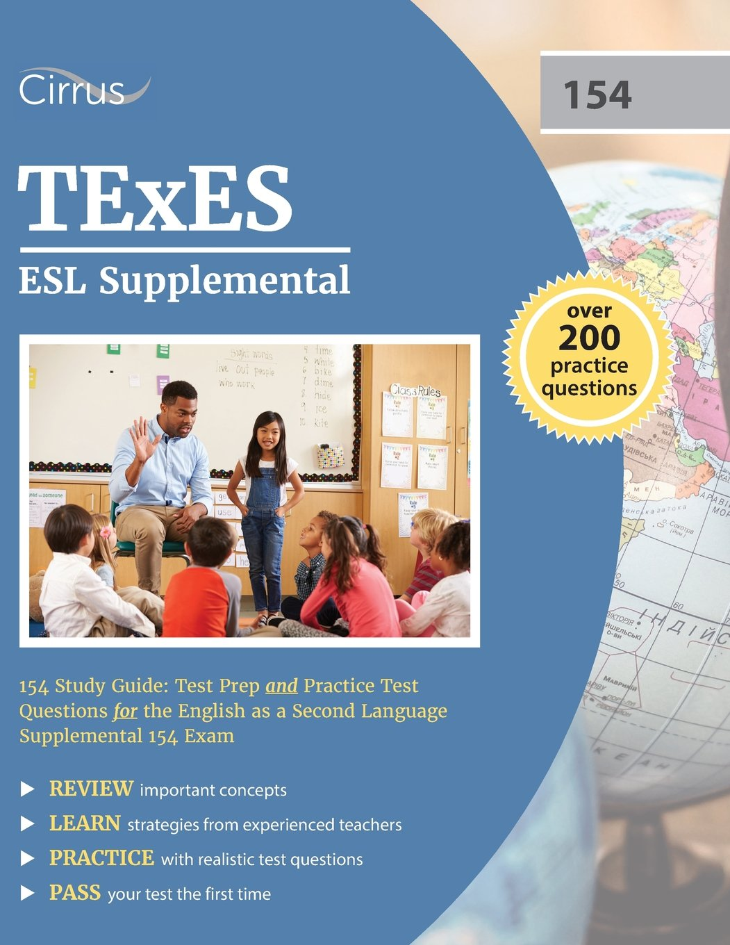 Texes esl supplemental 154 study guide test prep and practice texes esl supplemental 154 study guide test prep and practice test questions for the english as a second language supplemental 154 exam texes esl exam sciox Choice Image