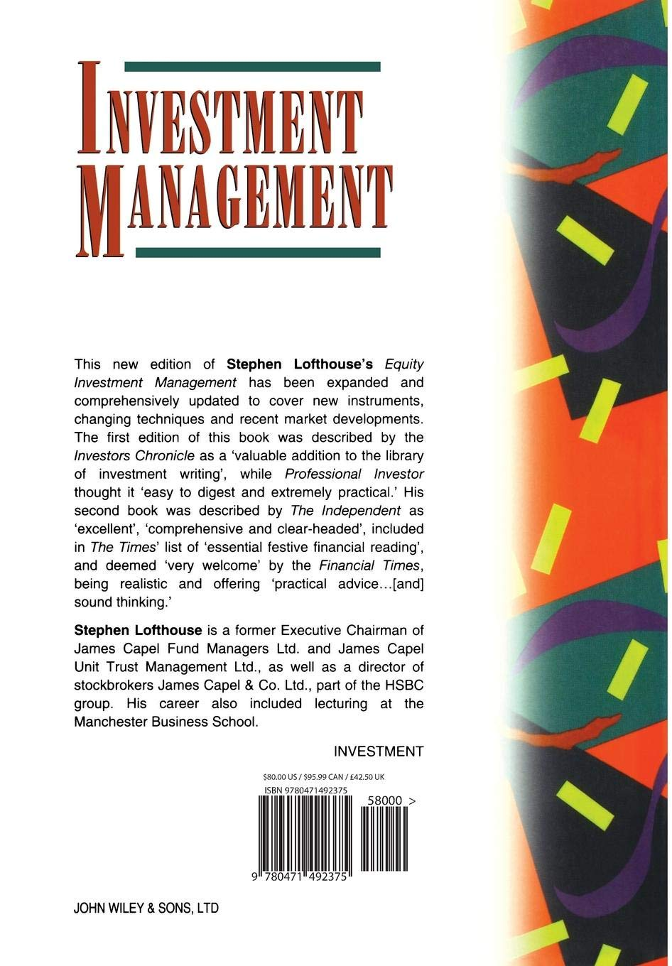 Buy Investment Management (Frontiers in Finance Series) Book Online