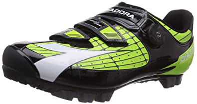 Diadora Unisex Adults  X Vortex- COMP Mountain Bike Cycling Shoes  Multi-Coloured Size cada17b9438
