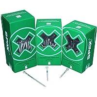 SPAX Aanpassingsschroef, platte kop, houderbeugels, T-Star plus, WIROX 6 x 70 mm 100 stuks