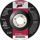 United Abrasives-SAIT 22021 Type 42/27 4-1/2-Inch x .045 Inch x 7/8-Inch Grade A60S General Purpose Depress Center Cutting Wheels, 50-Pack